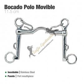 Bocado Polo Movible Inox 21253