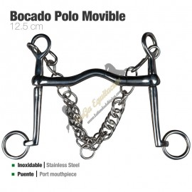 Bocado Polo Movible Inox Económico