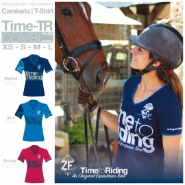 Camiseta Time-Tr Combi Mujer