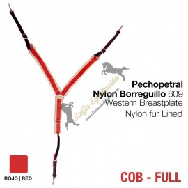 Pechopetral Nylon Borreguillo 609 Rojo