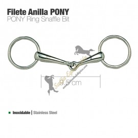 Filete Anilla Inox Pony 21239