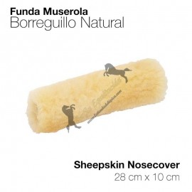 Funda Para Muserola Borreguillo Natural