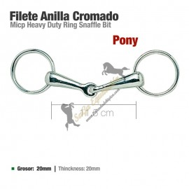 Filete Anilla Cromado Pony 21522 11.5Cm